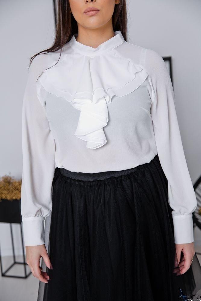 Biała Bluzka LORY Plus Size