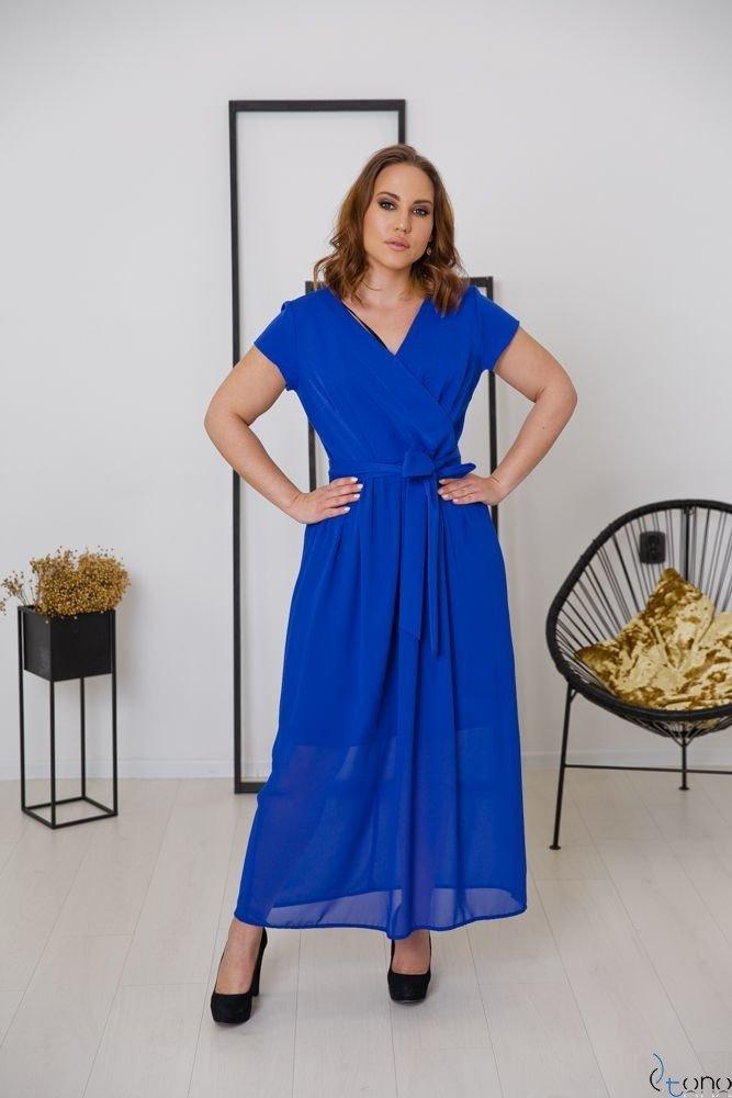 Chabrowa Sukienka MALIKKA Plus Size