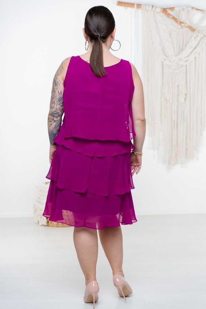 Fioletowa Sukienka SUZIE