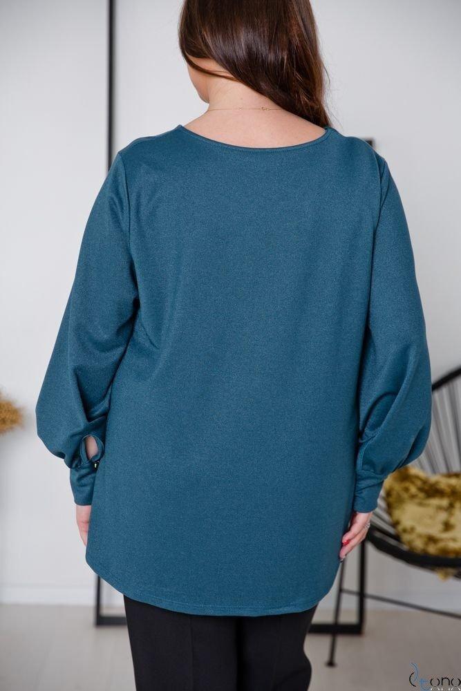 Zielona Bluzka DIMENA Plus Size