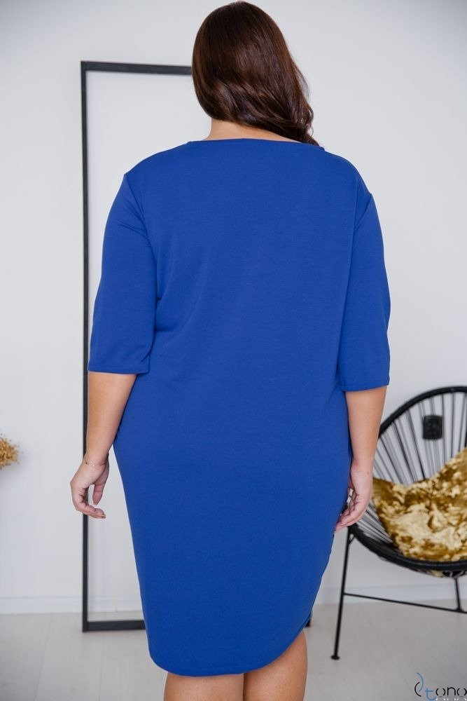 Chabrowa Sukienka ELIA Plus Size