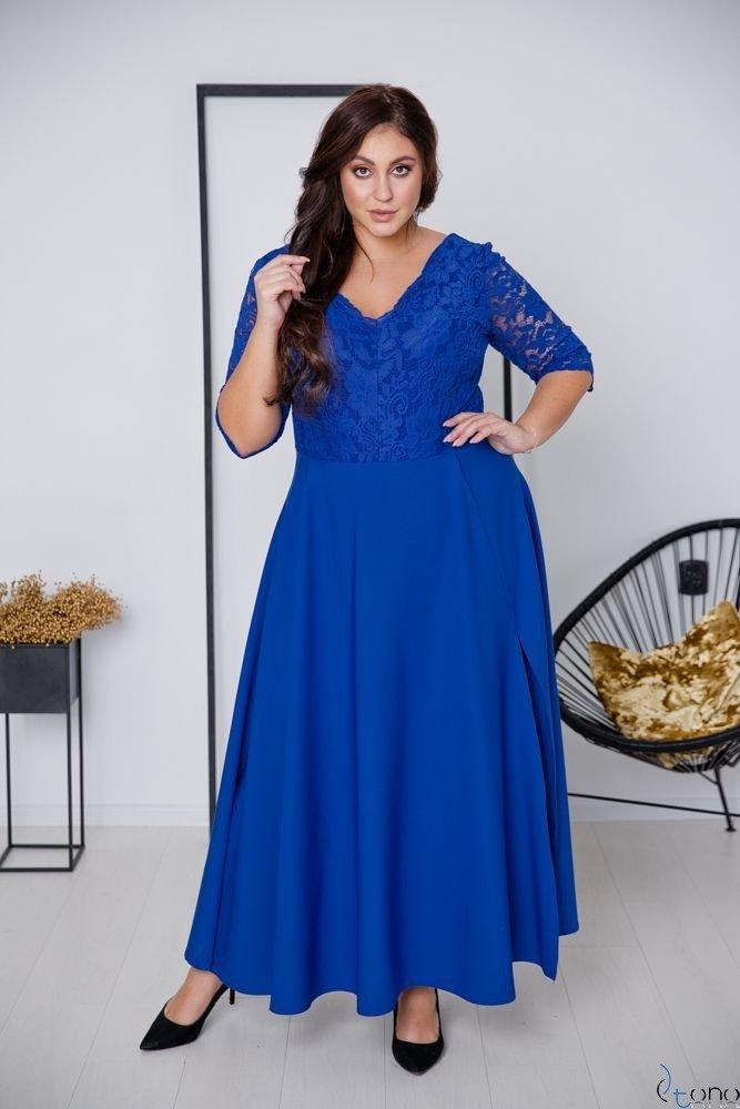 Chabrowa Sukienka ELIZ Plus Size