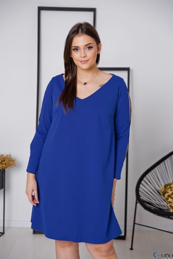 Chabrowa Sukienka NADALL Plus Size