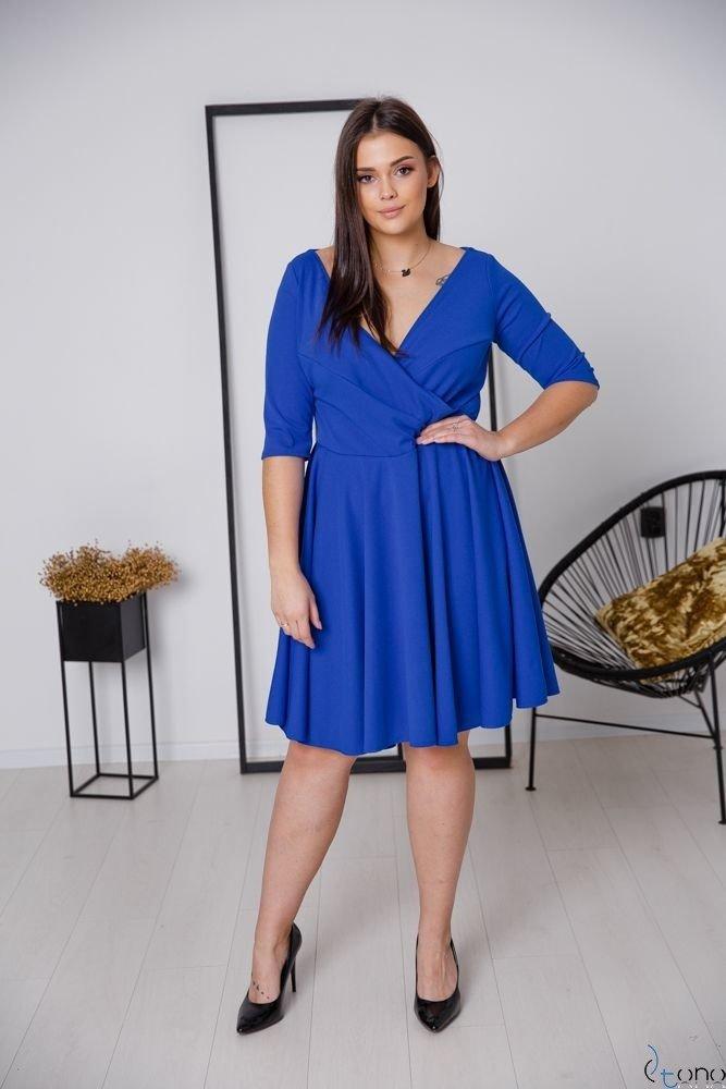 Chabrowa Sukienka OLINDA Plus Size