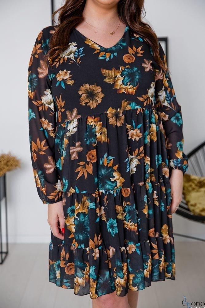Sukienka MORENNA Plus Size Wzór 7