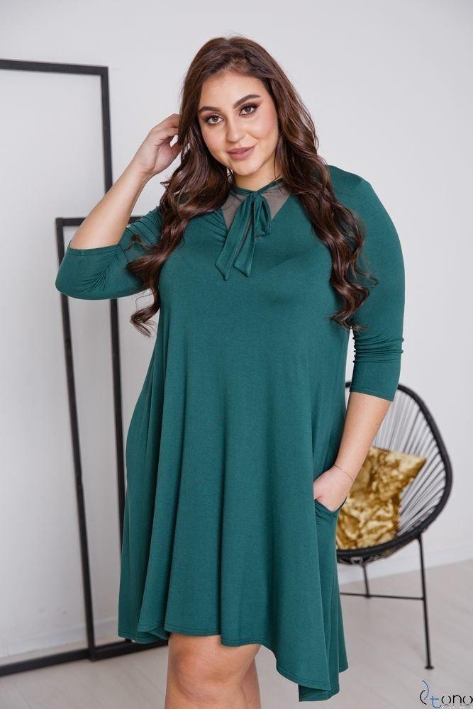 Zielona Sukienka MORYA Plus Size